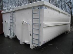 Abrollcontainer Spantenfrei